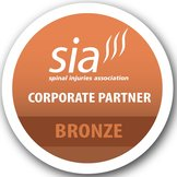 The Spinal Injuries Association Corporate Partner Bronze award logo links to website
